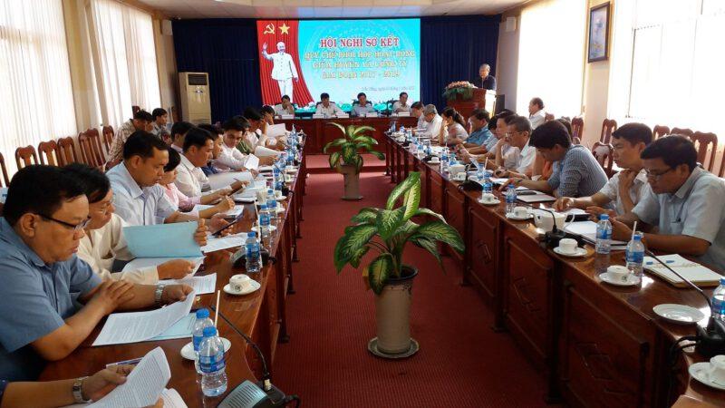 Hội nghị sơ kết quy chế phối hợp
