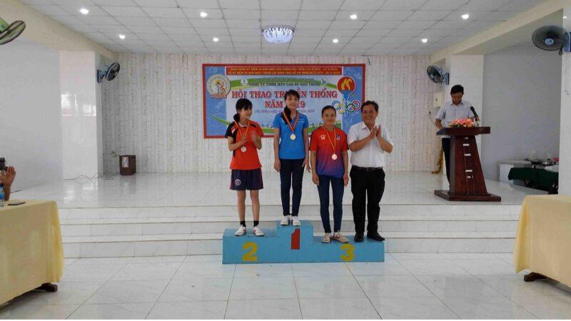 Hội thao truyền thống trong công nhân viên chức lao động