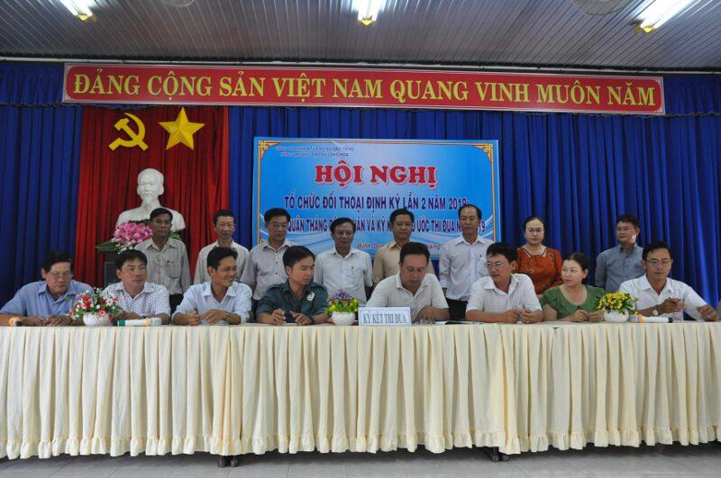 nong truong long hoa to chuc le phat dong thang cong nhan