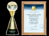 GVR - International Star For Leadership in Quality Award